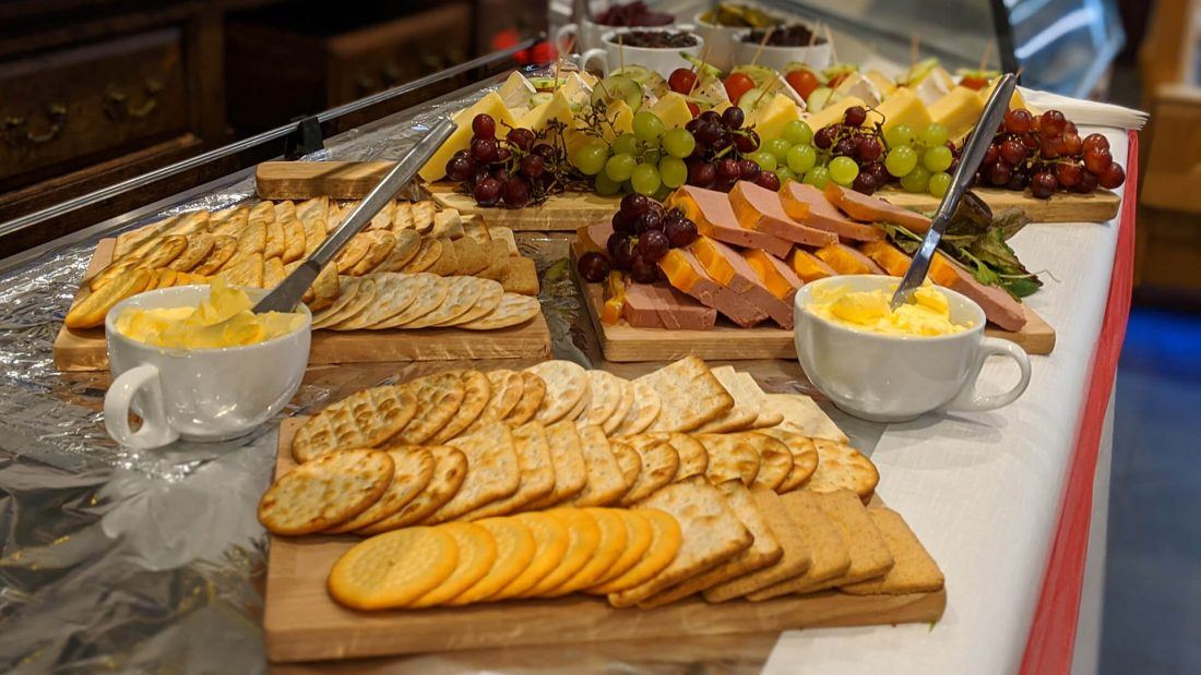 Riverside Country Club Menu Cheese Board