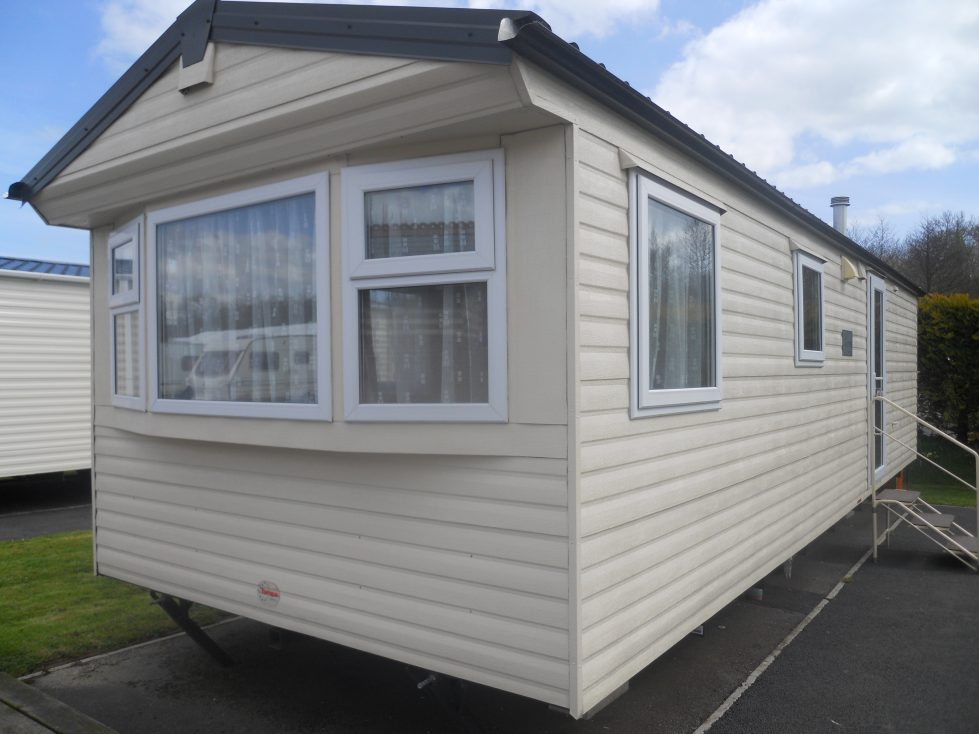 Static Caravan at Riverside Camping and Caravan Park, South Molton