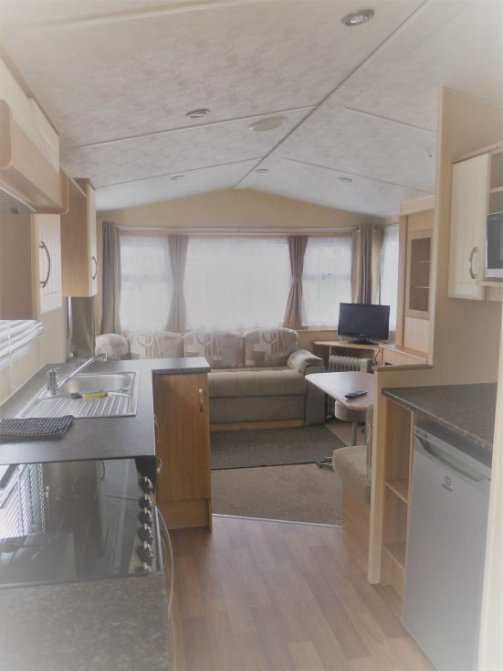 Static Caravan at Riverside Camping Park, South Molton