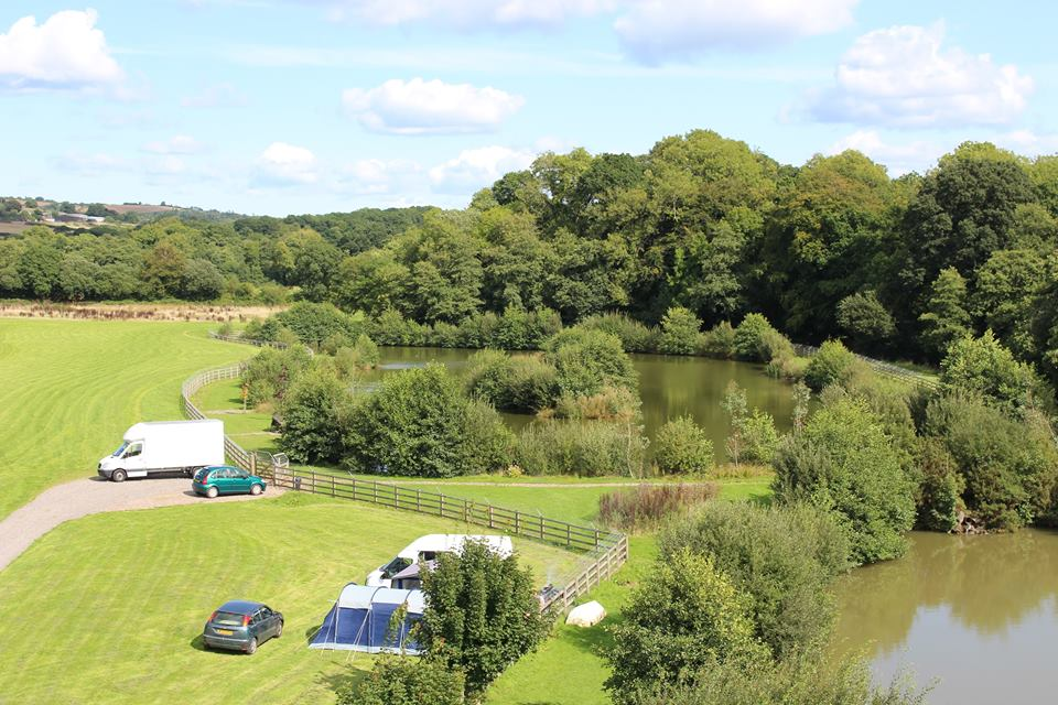 Fishing Lakes Riverside Camping & Caravan Park, South Molton