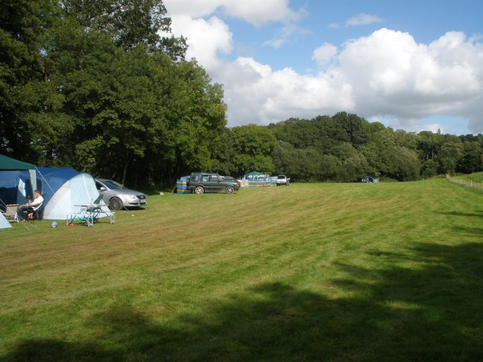 Camping Field at Riverside Camping & Caravan Park, South Molton