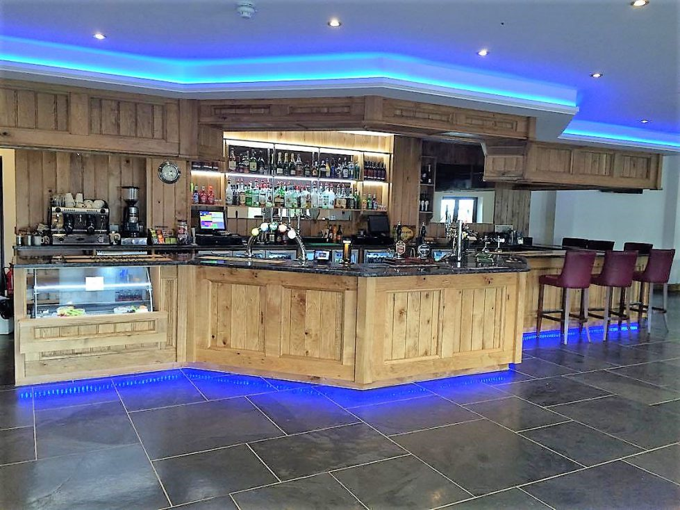 Bar at Riverside Camping and Caravan Park, South Molton