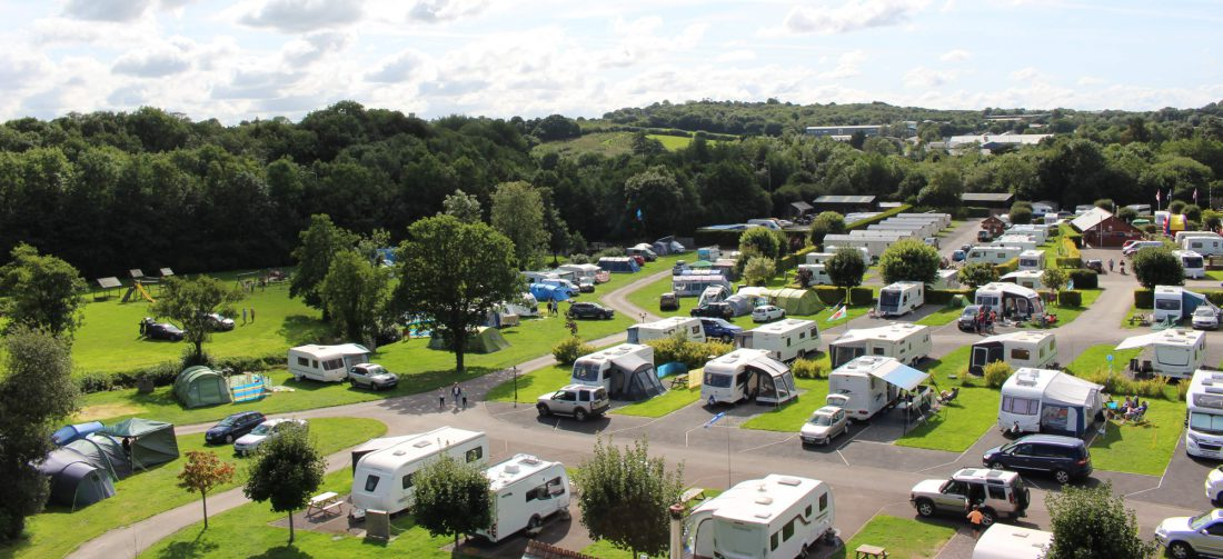 Riverside Caravan and Camping Park, South Molton