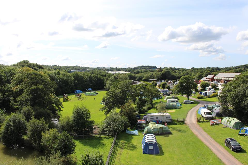 Riverside Camping and Caravan Park, South Molton